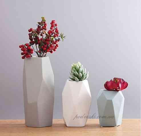 Декор керамика, оригинальные вазы для цветов, наборы ваз Киев