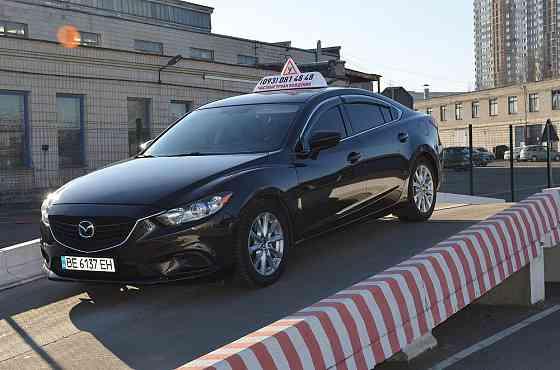 Уроки вождения автомобиля. Киев