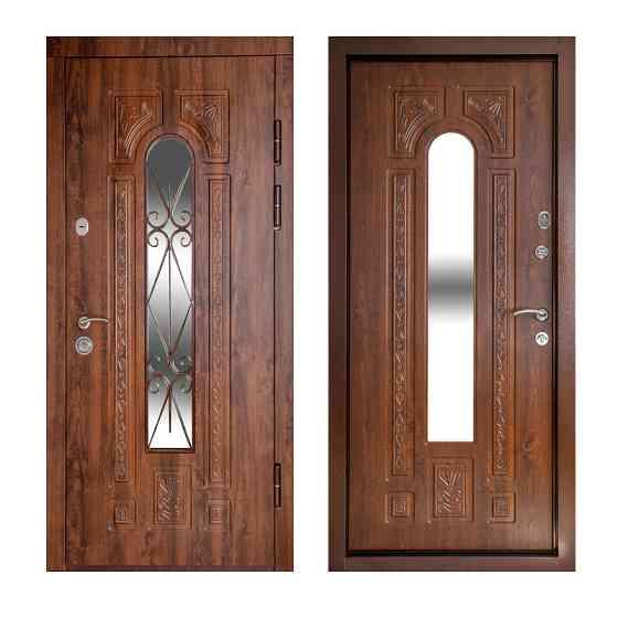 Входные двери со стеклом и ковкой в Украине оптом и в розницу Одесса